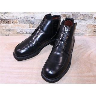 コールハーン(Cole Haan)のコールハーン サイドゴアアンクルブーツ 黒 27,528cm(ブーツ)