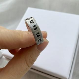 MM6 - MM6 Margiela LOGO 指輪です