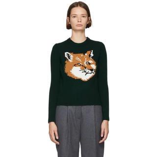 メゾンキツネ(MAISON KITSUNE')のmaison kitsune メゾンキツネ fox headニット セーター(ニット/セーター)