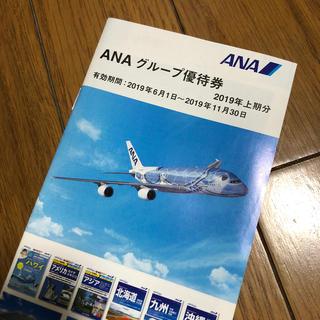 エーエヌエー(ゼンニッポンクウユ)(ANA(全日本空輸))のANA グループ優待券 冊子1冊(航空券)