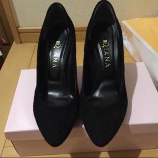ダイアナ(DIANA)のDIANA 黒ハイヒール 10センチ 1,8000円相当(ハイヒール/パンプス)