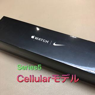 Apple Watch - 【未開封】Apple Watch 5 44mm Cellularモデル