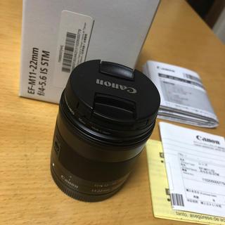 Canon - EF-M11-22mm f/4-5.6 IS STM EF-M 広角レンズ 美品