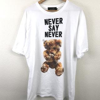 MILKBOY - ミルク ボーイ メンズ Tシャツ 半袖 丸首 白 イラスト ロゴ XL/LL 白