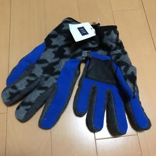 ギャップ(GAP)の新品 値札付 激安 GAP ギャップ キッズ 手袋 滑り止め付 2400円 M(手袋)