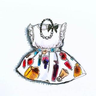 チチカカ(titicaca)のアジアンテイスト bijou knit トップス 商談中(ニット/セーター)