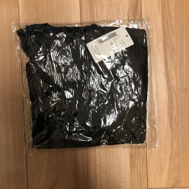 fifth(フィフス)のハイネックレースドッキングニット fifth ブラック レディースのトップス(ニット/セーター)の商品写真