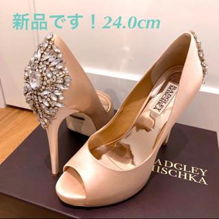 ヴェラウォン(Vera Wang)のBadgley Mischka kiara バッジェリーミシュカ♡24.0cm(ハイヒール/パンプス)