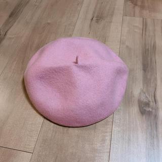 キャトルセゾン(quatre saisons)の未使用!毛100% ベレー帽(ハンチング/ベレー帽)