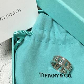 ティファニー(Tiffany & Co.)のティファニー アトラス  オープンリング シルバー #8(リング(指輪))