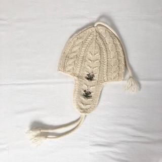 ボンポワン(Bonpoint)のbonpoint ニット帽(帽子)