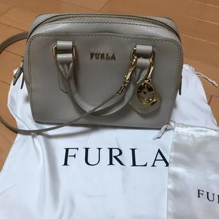 Furla - フルラ  ハンドバッグ ハートのチャーム付き