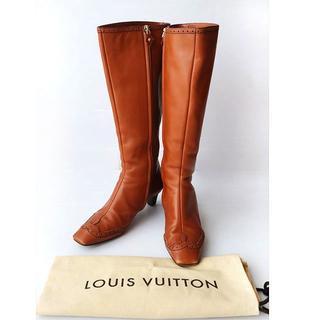 LOUIS VUITTON - ルイヴィトン ☆ ロングブーツ 35 1/2 22.5cm〜23cm