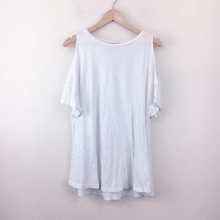 SLY - 美品 SLY スライ カットソー 半袖 白 無地 カジュアル シンプル