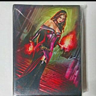 マジックザギャザリング(マジック:ザ・ギャザリング)の【新品未使用】リリアナのスリーブ 60枚(カードサプライ/アクセサリ )