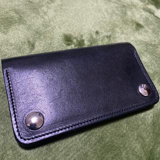 テンダーロイン(TENDERLOIN)のトラッカーウォレット 財布 レザー 折り財布(長財布)