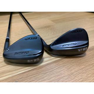 クリーブランドゴルフ(Cleveland Golf)の特注 クリーブランド RTX4 ウエッジ  52/10 58/9 2本セット(クラブ)