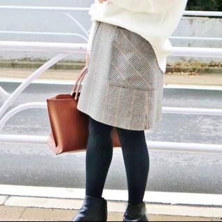 IENA - チェック台形スカート IENA 40