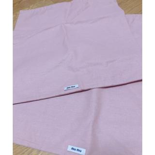 ミュウミュウ(miumiu)のMIUMIU 付属巾着(ショップ袋)