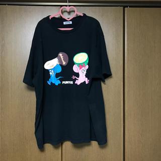 プニュズ(PUNYUS)のPUNYUS いただきマウス Tシャツ(Tシャツ(半袖/袖なし))