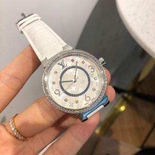 LOUIS VUITTON - ルイヴィトン 腕時計 女性用 白