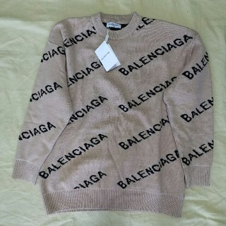 バレンシアガ(Balenciaga)のBalenciaga バレンシアガ  ニット セーター 男女兼用 正規品(ニット/セーター)