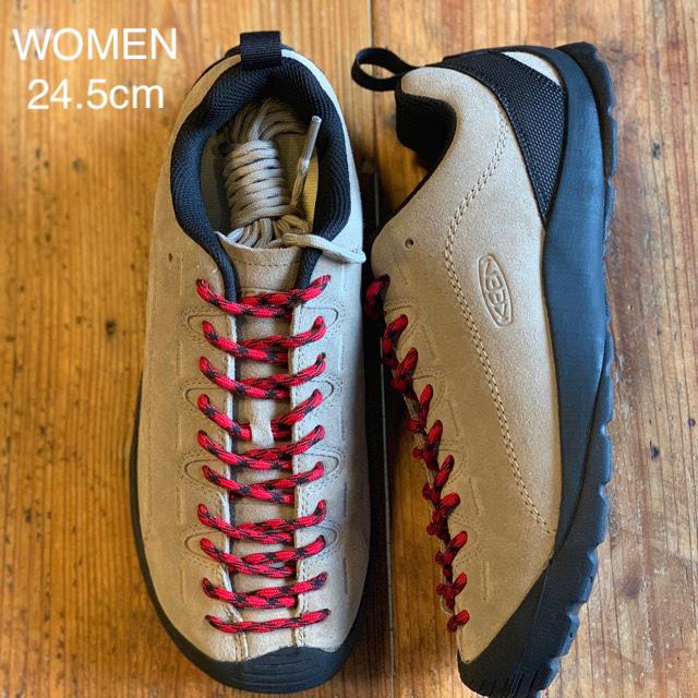 KEEN(キーン)のKEEN ジャスパー WOMEN 24.5cm シルバーミンク レディースの靴/シューズ(スニーカー)の商品写真
