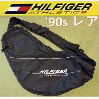 トミーヒルフィガー(TOMMY HILFIGER)のボディバッグ ヒルフィガーアスレチック'90s ヴィンテージ レア バックパック(ボディーバッグ)