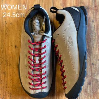 キーン(KEEN)のKEEN ジャスパー WOMEN 24.5cm シルバーミンク (スニーカー)