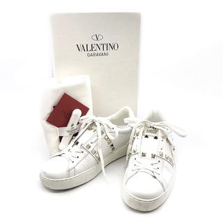 valentino garavani - ヴァレンティノ スタッズ アンタイトルド スニーカー NW2S0A01 24