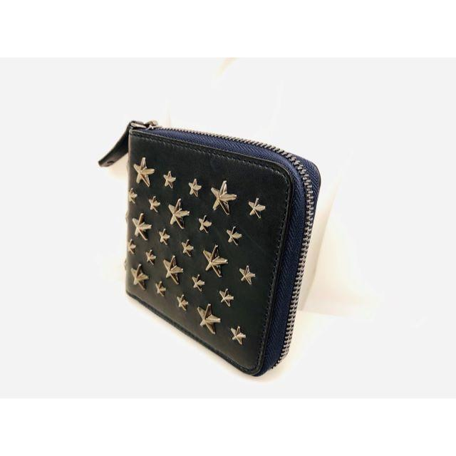 JIMMY CHOO(ジミーチュウ)のジミーチュウ 二つ折り 財布 ウォレット バレンシアガ bag グッチ サイフ メンズのファッション小物(折り財布)の商品写真