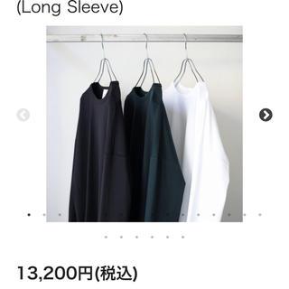 サンシー(SUNSEA)のsoumo 19aw カットソー(Tシャツ/カットソー(七分/長袖))