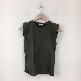 URBAN RESEARCH - 美品 アーバンリサーチ レディース 袖フリル Tシャツ フリーサイズ カーキ