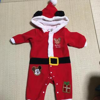 ミッキー 子供 クリスマスロンパース