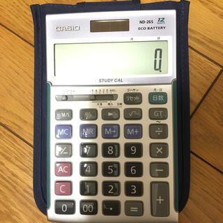 CASIO - 簿記電卓 伝票ホルダーなどもつけます