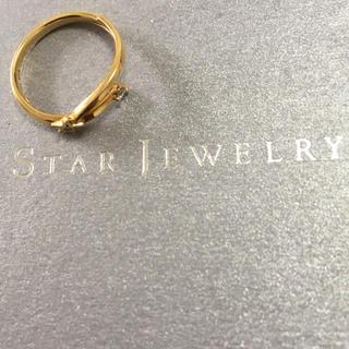 スタージュエリー(STAR JEWELRY)のスタージュエリー starjewelry 18金 星 ダイヤ リング k18 (リング(指輪))