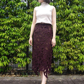 FRAY I.D レースタイトスカート