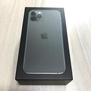 アイフォーン(iPhone)のiPhone 11 Pro 512GBミッドナイトグリーン simフリー 香港版(スマートフォン本体)