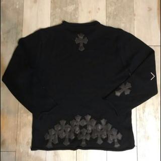 クロムハーツ(Chrome Hearts)のクロムハーツ セメタリークロス ニットセーター (ニット/セーター)