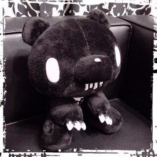タイトー(TAITO)の【新品】グル〜ミ〜 PPぬいぐるみ【MONOTONE】〈モノブラック〉(非売品)(キャラクターグッズ)