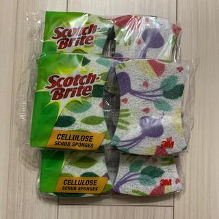 コストコ(コストコ)のスコッチブライト スポンジ(収納/キッチン雑貨)