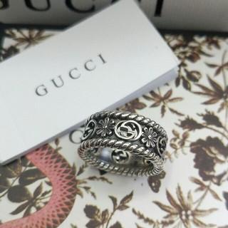 グッチ(Gucci)の新品!グッチGucci リング 指輪 男女兼用 7# 超美品(リング(指輪))