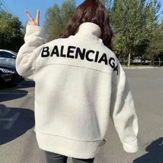 Balenciaga - 今年流行バレンシアガ ロングパーカー アウターボアフリース