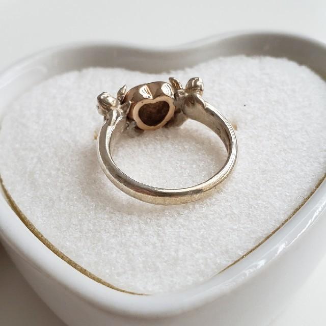 お値引き中❗天使とハートのかわいいリング✨ レディースのアクセサリー(リング(指輪))の商品写真