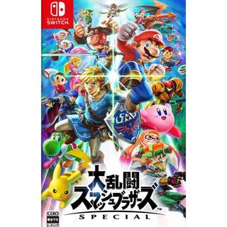 Nintendo Switch - スマブラ Switch 大乱闘スマッシュブラザーズ SPECIAL