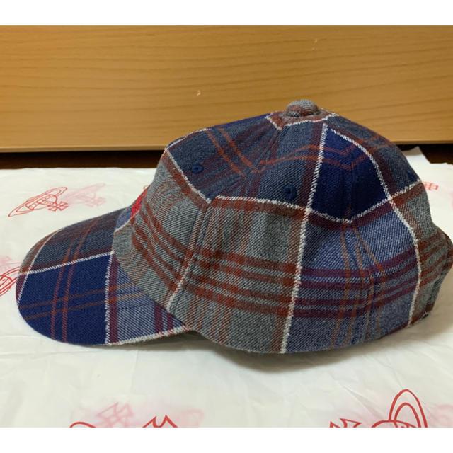 Vivienne Westwood(ヴィヴィアンウエストウッド)の今期ヴィヴィアンウエストウッドフロッキーキャップ レディースの帽子(キャップ)の商品写真