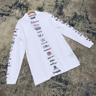 Balenciaga - 【BALENCIAGAバレンシアガ】メンズ◇マルチロゴTシャツ/SALE