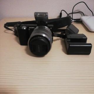 SONY - SONY nex-5 ミラーレスデジタル一眼レフカメラ ズームレンズ