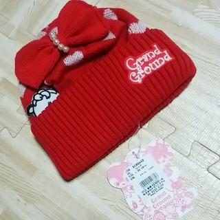 GrandGround - グラグラ    ニット帽    L