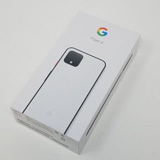 ANDROID - SIMフリー Google Pixel 4 Clearly White 64GB